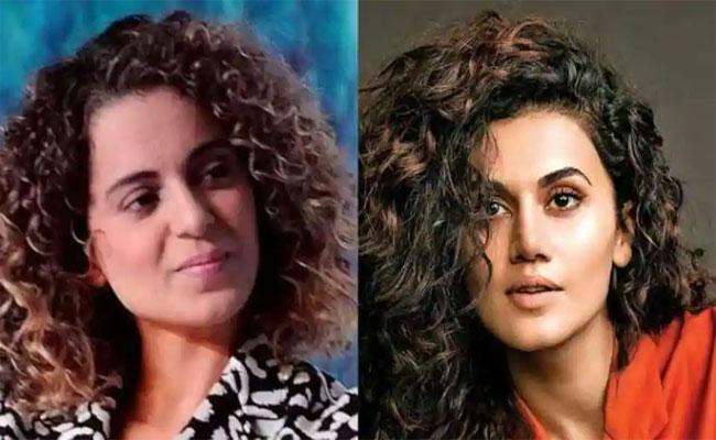Taapsee's Crazy Reply To Kagana's Grading!