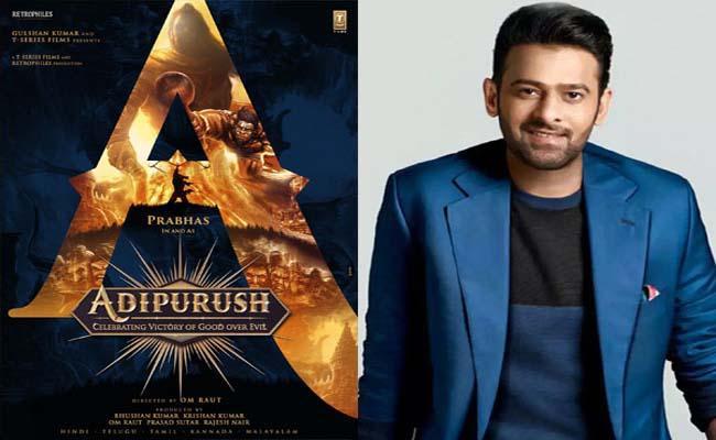 Shocking: Prabhas's Adipurush Will Be Wrapped Up In 70 Days!