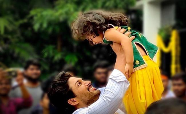 Allu Arjun's musical birthday gift to daughter
