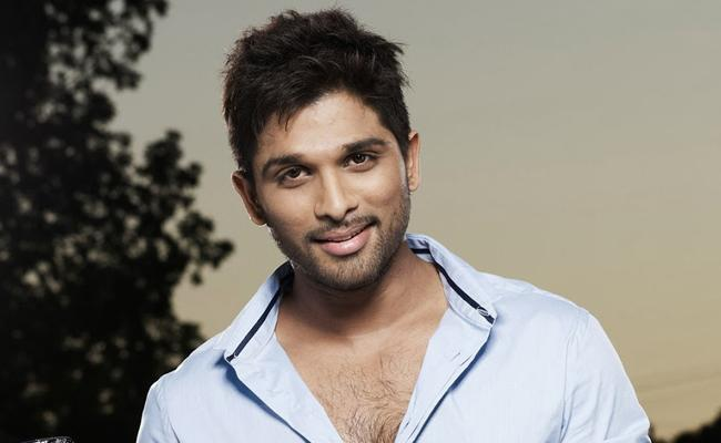 Allu Arjun Not Satisfied Tag with South Star Tag
