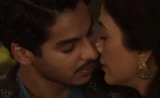 Tabu, Ishaan Khatter share a kiss in 'A Suitable Boy' teaser