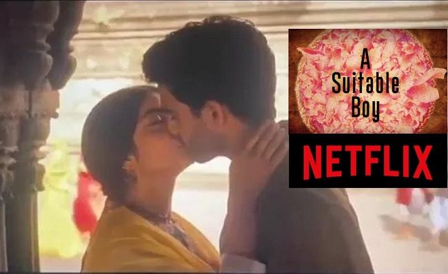 Temple Kissing Scene Puts Netflix In A Fix!