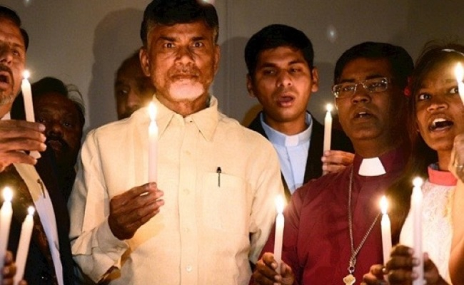 Talk on Christianity will prove costly for Naidu!