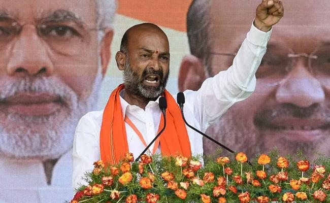 T'gana BJP chief's surgical strike comment sparks row