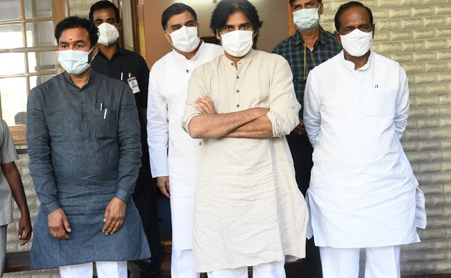 BJP Forces Jana Sena To Drop Out In GHMC Polls!