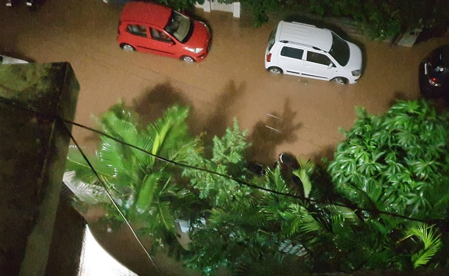Actor Brahmaji's House Flooded