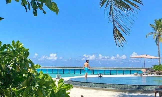 Chaitanya Celebrates Birthday with Wife in Maldives