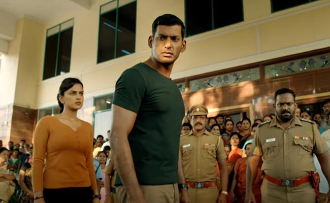 Chakra Trailer: Hackers, Robbers and Vishal!
