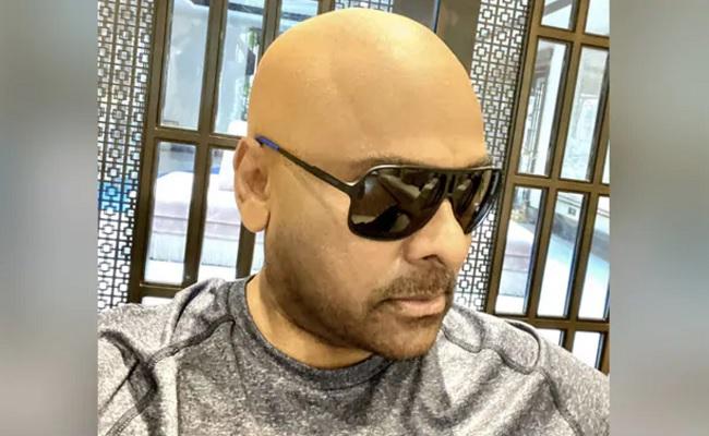 Watch: Chiranjeevi's Original Hair Exposed