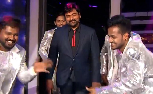 Sohel, Mehboob and Divi Gets Special Gifts From Chiru