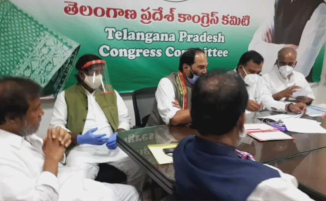 Cong's T'gana in-charge stresses on unity, discipline