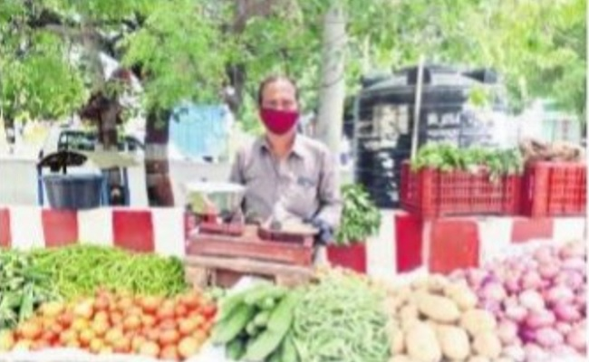 Film Distributor Selling Vegetables On Streets