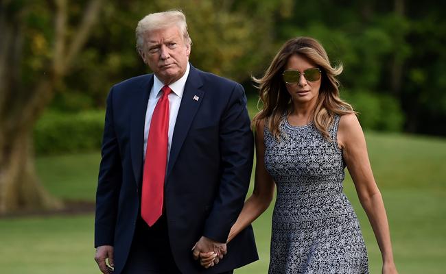 Melania, Donald Trump Headed for Divorce?