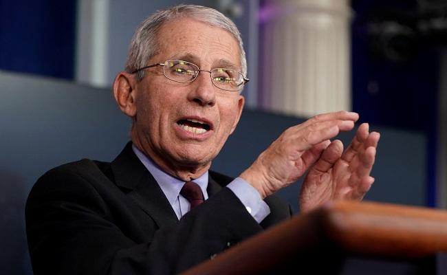 Fauci warns of 100,000 COVID cases per day in US