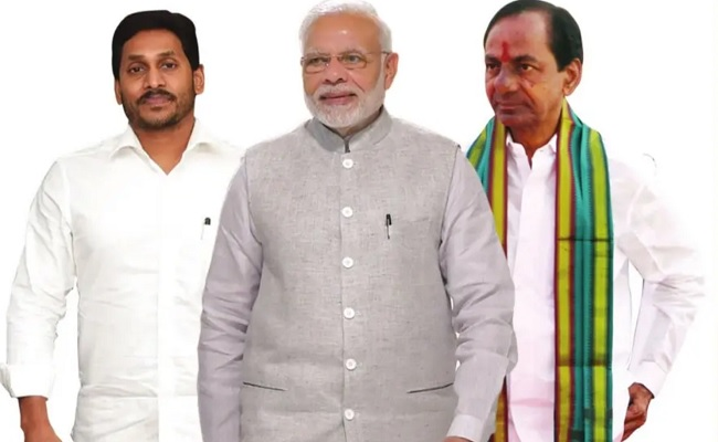 KCR, Jagan take different stands on Centre!