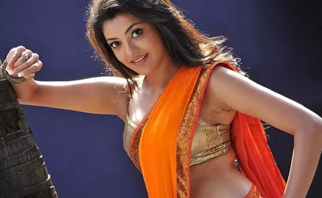 Pics: Kajal Aggarwal redefines hotness in sarees
