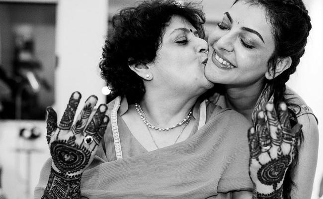 Kajal shares heartwarming wishes for her mom.. - Greatandhra.com