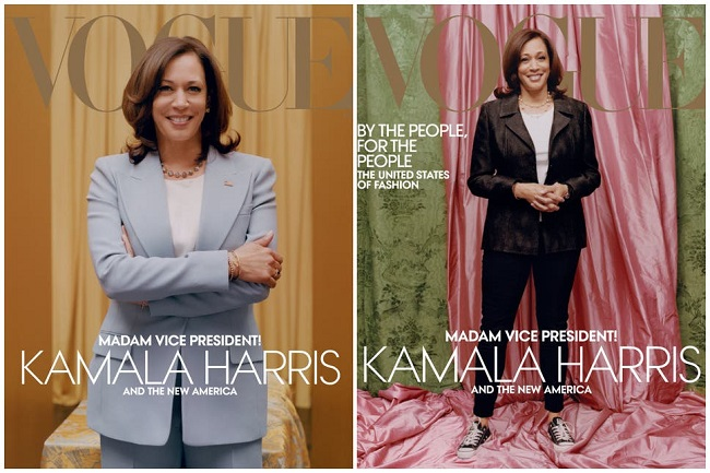 Vogue goes rogue with Kamala Harris cover picture