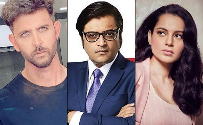 Arnab's Alleged Text On Kangana's Sexual Possession