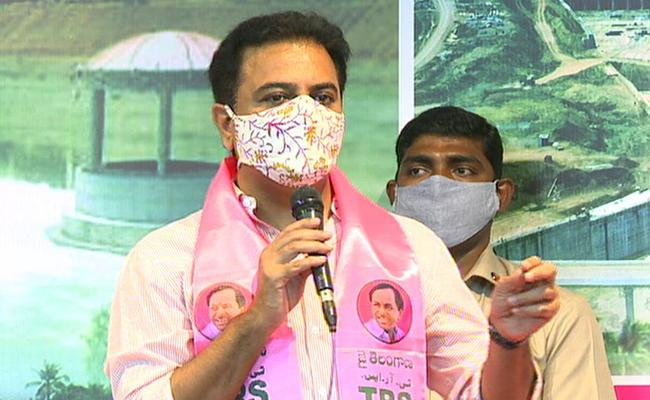 What provoked KTR's onslaught on BJP?