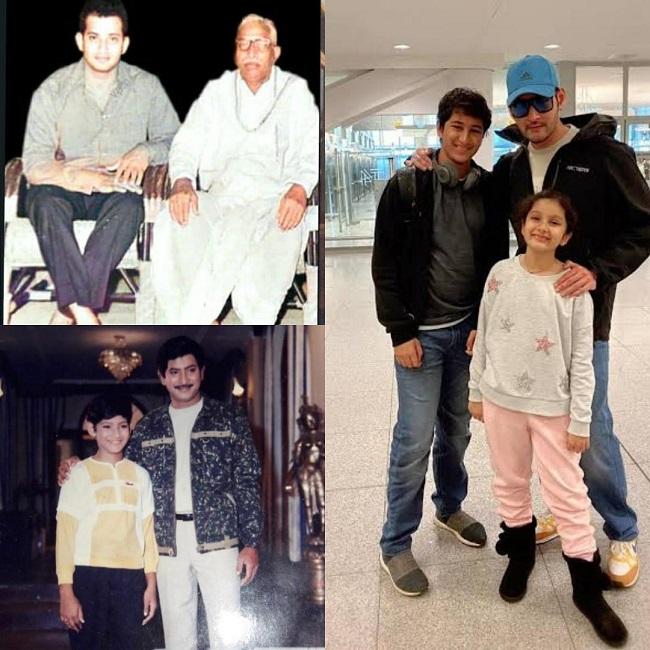 Pic Talk: 3 Generations Of Mahesh Babu's Family
