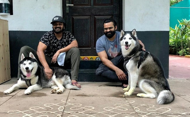 Pic Talk: Manoj And Sai Tej Pets' Date Day