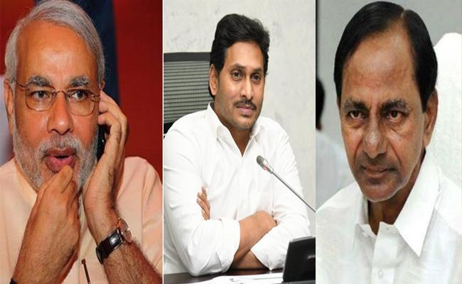 Modi speaks to KCR, Jagan; Offers Assistance