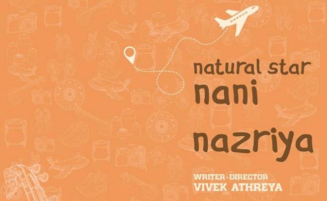 Nani Welcomes Nazriya To TFI