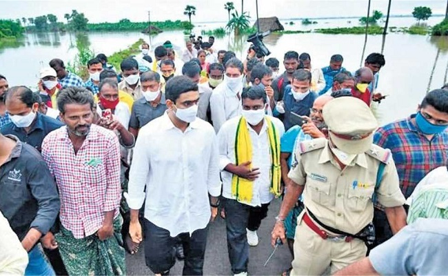 Lokesh Jumps Into Action With Tears In Eyes