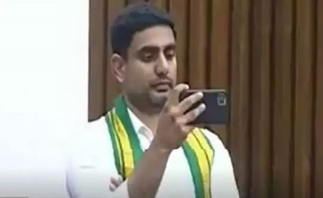 Lokesh Resorted To Breach Of Privilege?