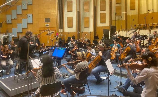 Why Budapest For Nishabdham Re-recording?