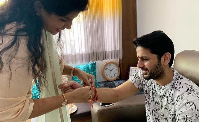 Pic Talk: Sister Ties Rakhi To Nithiin