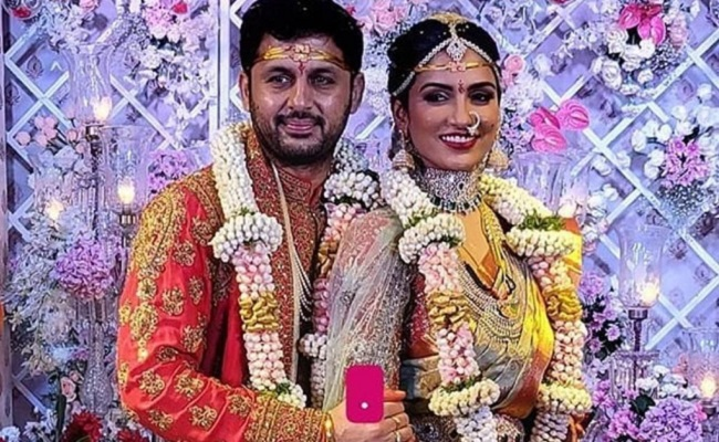 Nithiin Weds Shalini In A Grand Ceremony