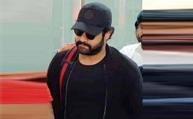 NTR Continues Ad Shoot Sporting Bheem Look