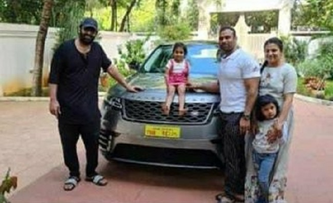 Prabhas Gifts a Luxury Car to Trainer