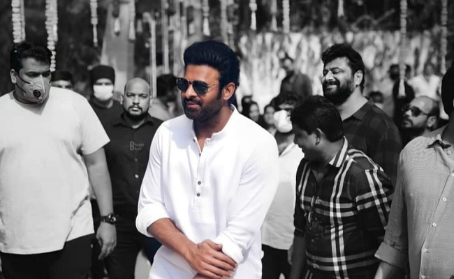 Prabhas Readying for Back-to-Back Shoots