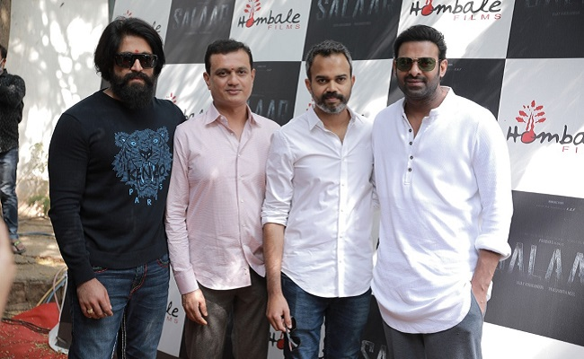 Prabhas And Yash For 'Salaar' In Hyderabad