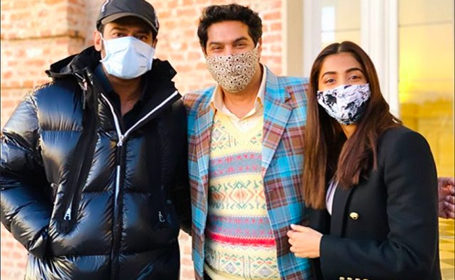 Pic Talk: Prabhas Spotted with Facemask in Italy