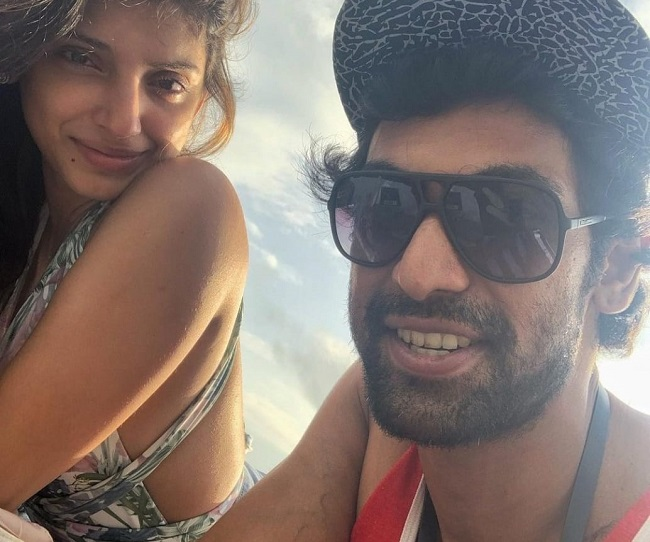 Pic Talk: Rana and Miheeka on a vacation