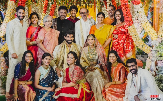 Rana Weds Miheeka in a Beautiful Ceremony