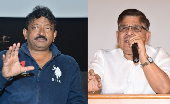Allu Aravind's Political Bomb On RGV?