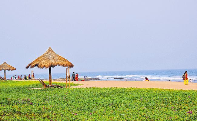 Vizag beach earns internationally acclaimed 'Blue Flag'