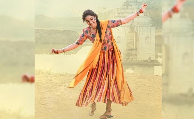 Pic Talk: Keerthy Suresh Dancing With Joy