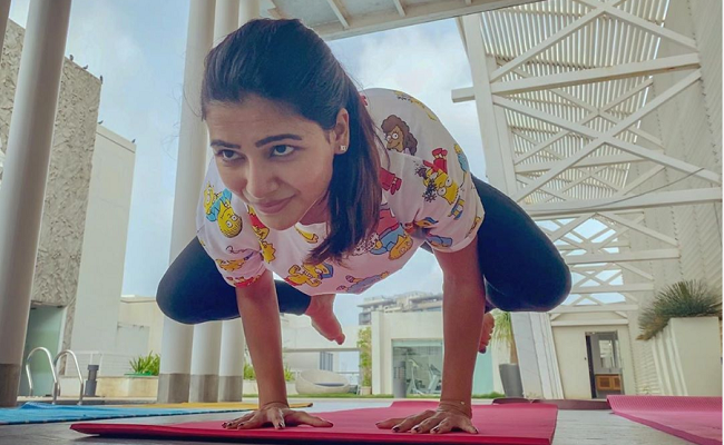 Samantha Akkineni reveals reason she loves yoga