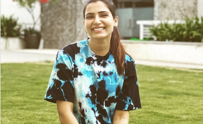 Reel Buzz: Samantha Back to the Sets