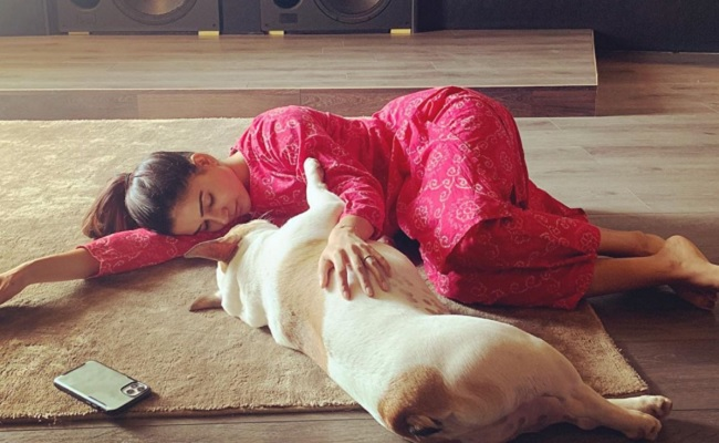 Samantha has 'failed as a mom' to her puppy Hash
