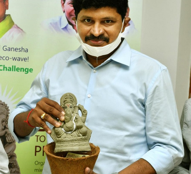 MP Santosh Kumar Initiates Seed Ganesha Program