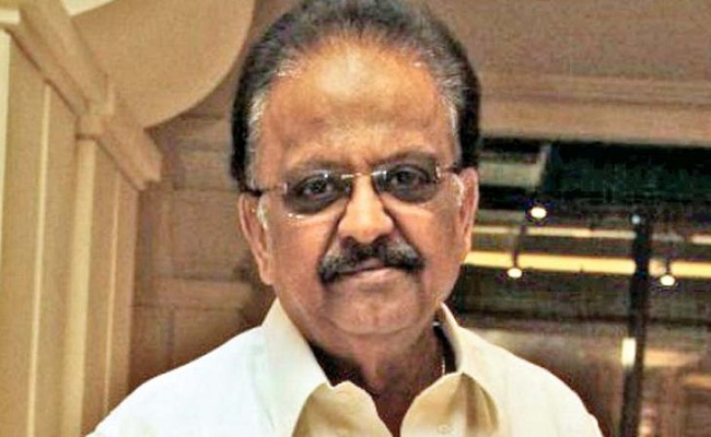 SPB is Covid negative, continues to be on ventilator