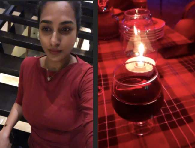 Surekha Vani Shares Wine and Dine Videos