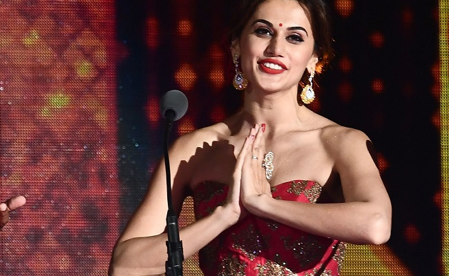Taapsee is in a relationship with 'no baggage, no burden'